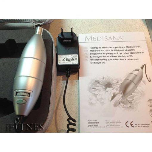 ابزار مانیکور مدیسانا medisana medistyle l 1 دستگاه مانیکور و پدیکور مدیسانا Medistyle L