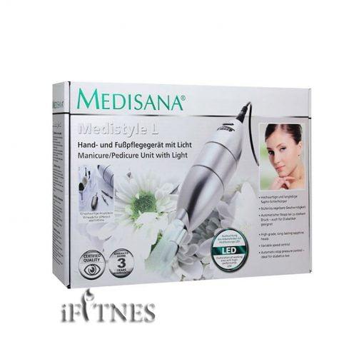ابزار مانیکور مدیسانا medisana medistyle l 4 دستگاه مانیکور و پدیکور مدیسانا Medistyle L
