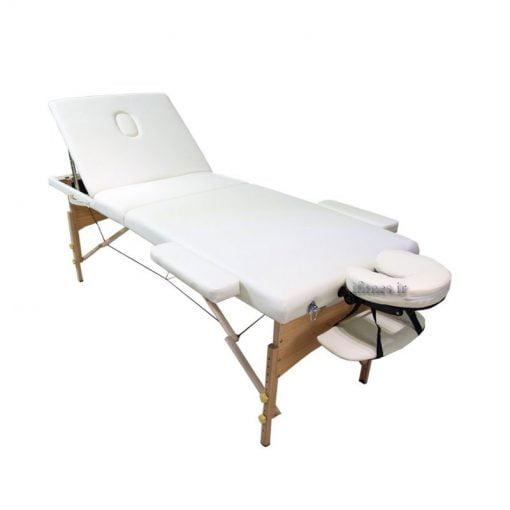 تخت ماساژ پرتابل چوبی WW