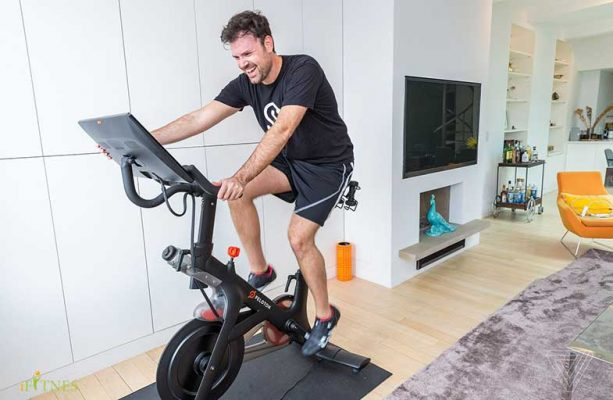 تنظیم دوچرخه ثابت قبل از تمرین 6