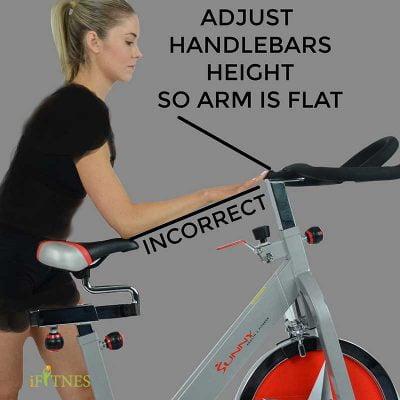 تنظیم فرمان دوچرخه ثابت