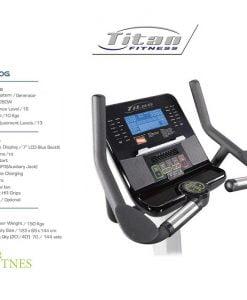 دوچرخه ثابت باشگاهی تایتان فیتنس A-1100-G