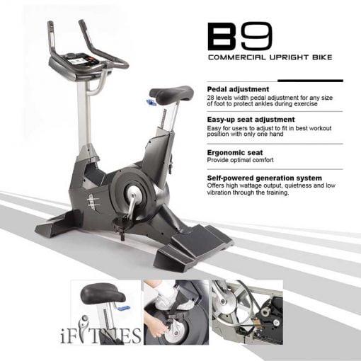 دوچرخه ثابت باشگاهی دی کی سیتی Stepfit 99. 3