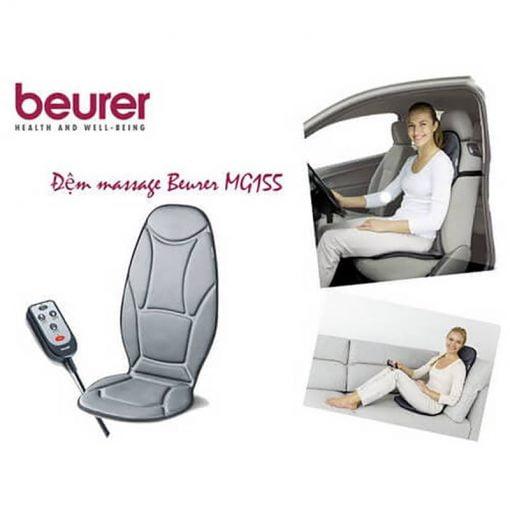 روکش صندلی ماساژور لرزشی بیورر beurer mg155 روکش صندلی ماساژور ماشین شیاتسو بیورر|MG155