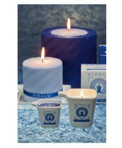 شمع ماساژ رایحه آبی آئورا Aura Blu