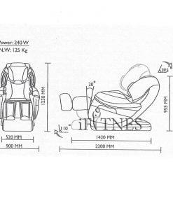 صندلی ماساژور آیرست iRest SL A80