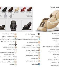 صندلی ماساژور آیرست iRest SL A80.