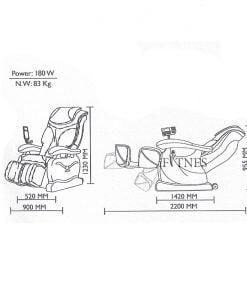 صندلی ماساژور آیرست iRest sla11 4