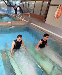 تردمیل آبی تمرین داخل آب