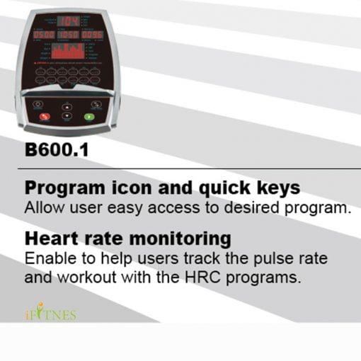 مشخصات و قیمت خرید دوچرخه ثابت دی کی سیتی B600.1
