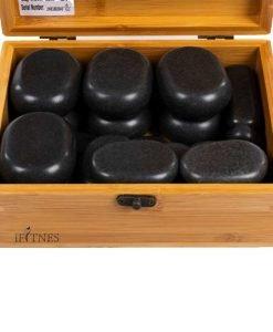 Pieces massage stones set 22 1