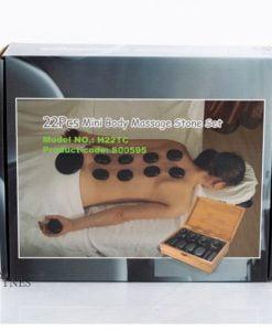 Pieces massage stones set 22