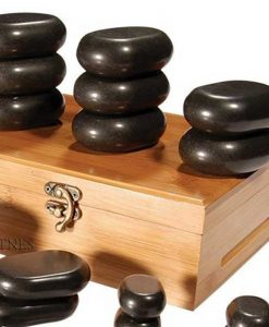 Pieces massage stones set 22 6