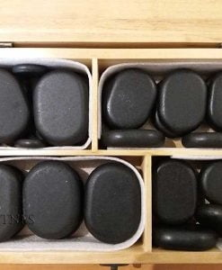 Pieces massage stones set 36 2