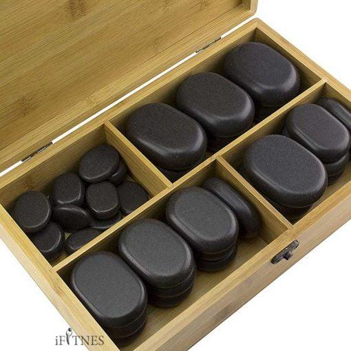 Set of 36 massage stones 2