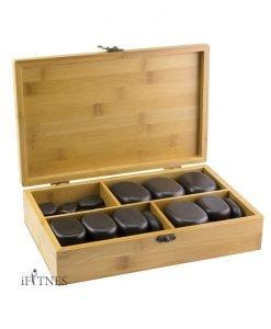 Set of 36 massage stones