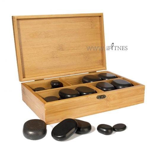 Set of 36 massage stones 4