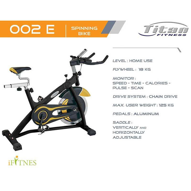 قیمت دوچرخه اسپینینگ تایتان فیتنس 002E